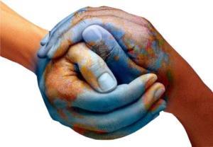 Handen als aarde